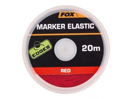 28022 fox edges marker elastic x 20m red