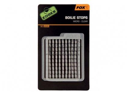 FOX Zarážky Edges Boilie Stops Micro