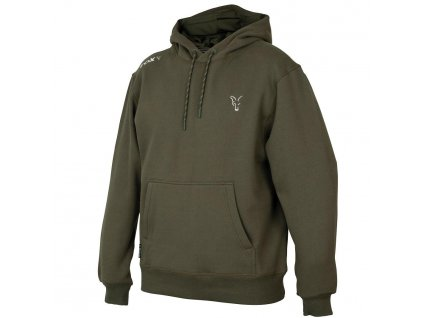 Fox Mikina Collection Green Silver Hoodie (Velikost M)