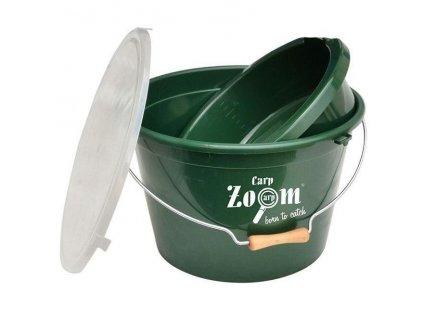 Carp Zoom Set kbelík + miska + víko