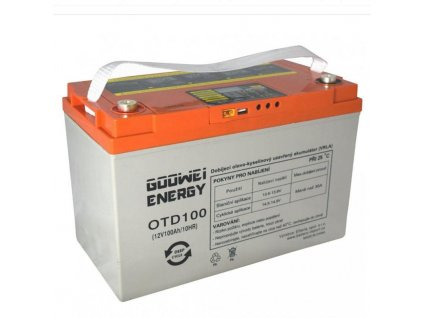 Gelová baterie OTD 100Ah