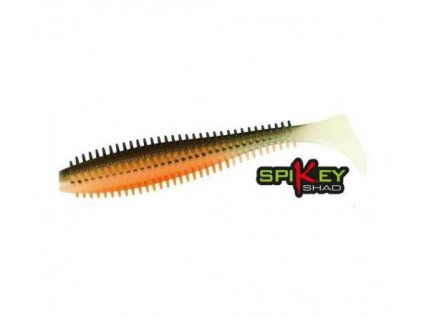 Fox Rage Spikey Shad 12cm Hot Olive