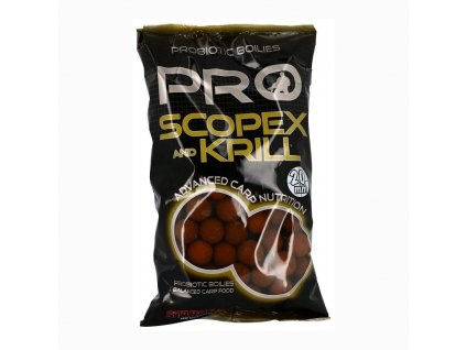 Boilies STARBAITS Probiotic Scopex & Krill 1kg