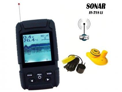 Echolot Wireless Fish Finder FF718Li 2 in 1
