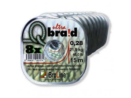 Broline Q Braid 8x