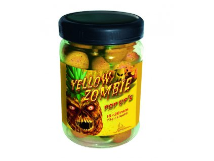 3722 radical yellow zombie pop up