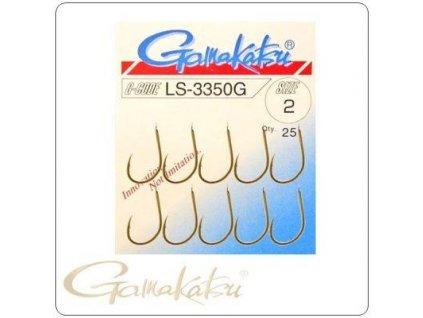 Zlaté háčky Gamakatsu LS-3350G (Velikost háčku 4)