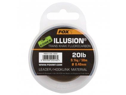 Fox Illusion Trans Khaki Fluorocarbom