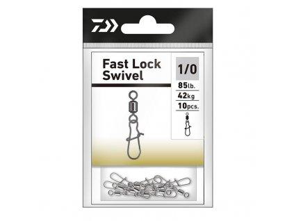 Karabinka Daiwa Fast Lock (Velikost 1/0)