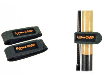 Stahovací pásky na rybářské pruty 2ks