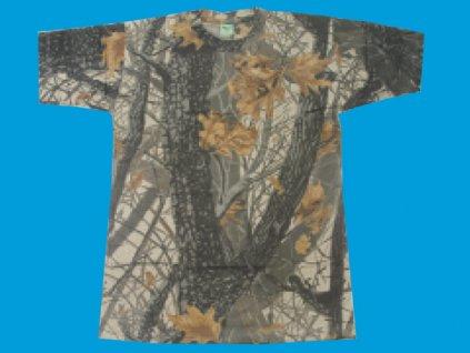 Tričko camou