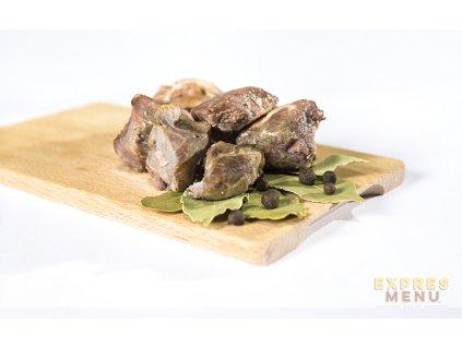 3 porce Vepřové maso ve vlastní šťávě