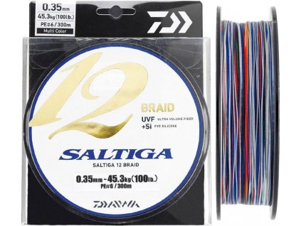 Daiwa Saltiga 12 Braid 1m (Průměr 0,45mm 53,4kg)
