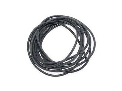 Bužírka - hadička PVC černá 2m
