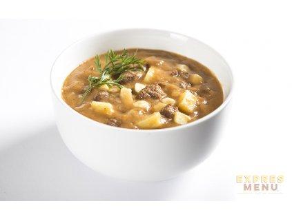 2 porce Expres Menu Gulášová polévka