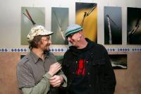 Dan & Robert in Dans photo exibiton