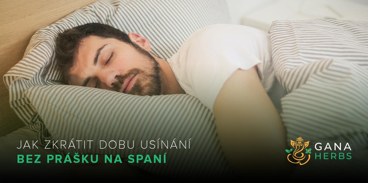 Pro muže: Jak zkrátit dobu usínání bez prášku na spaní