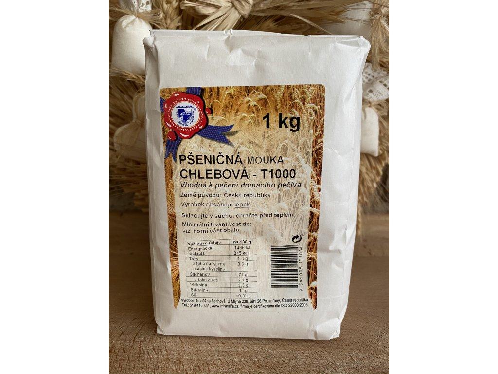 Pšeničná mouka chlebová T1000