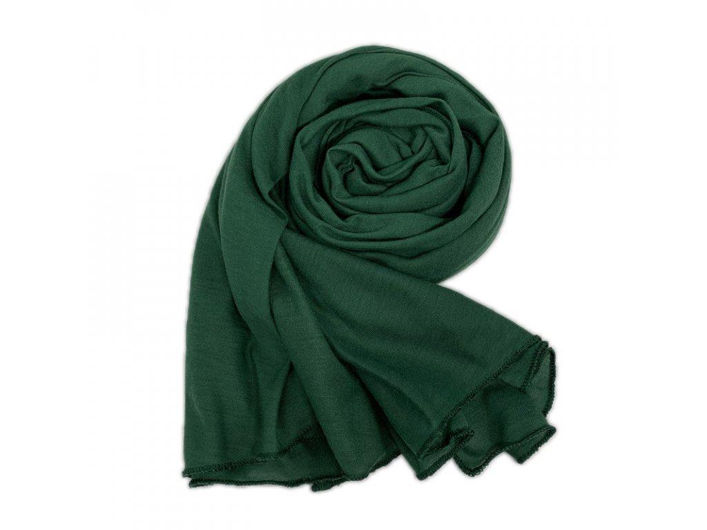 Dámský šál zelený