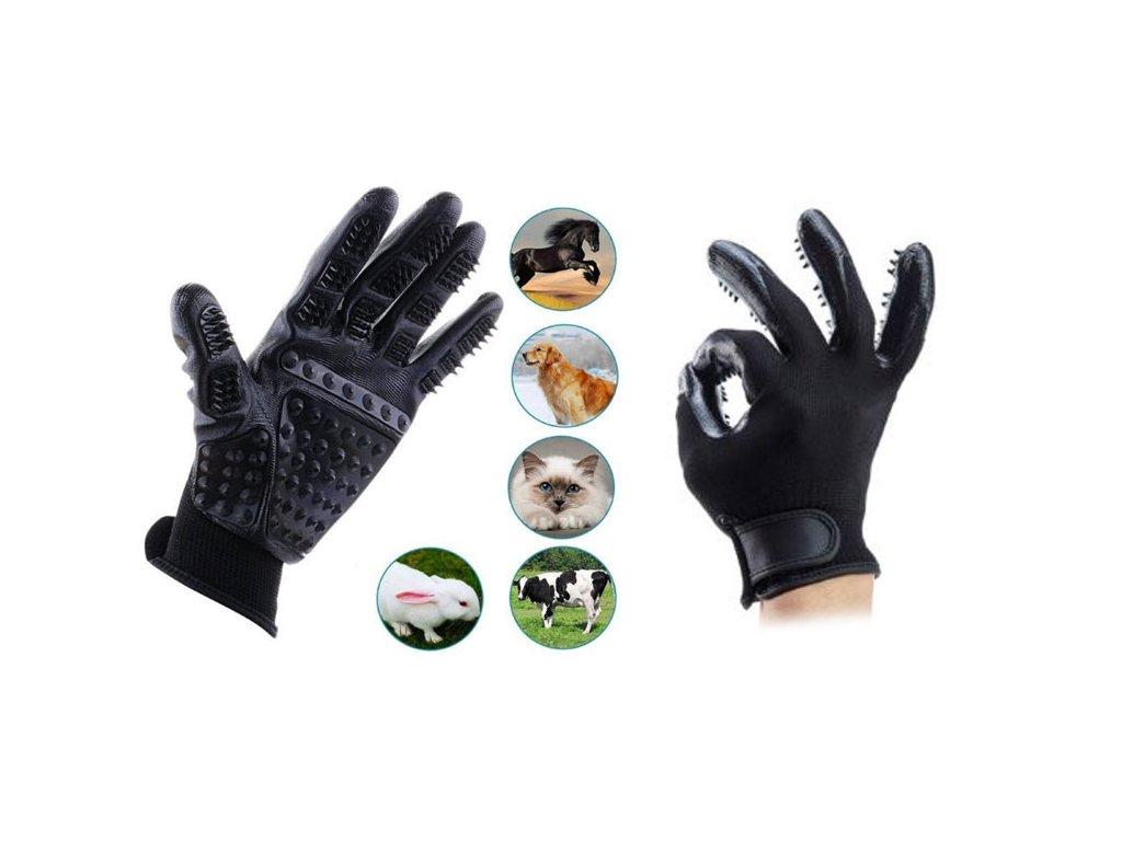 Vyčesávací rukavice pro vaše mazlíčky