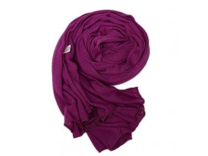 Dámský šál fialový