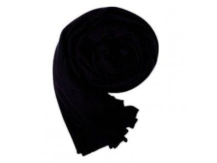 Dámský šál černý
