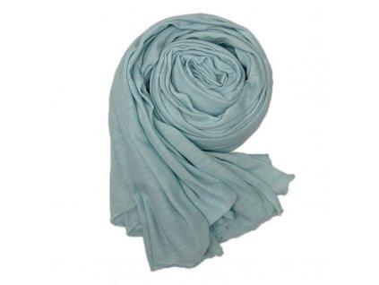 Dámský šál tichomořsky modrý