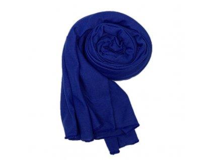 Dámský šál královsky modrý