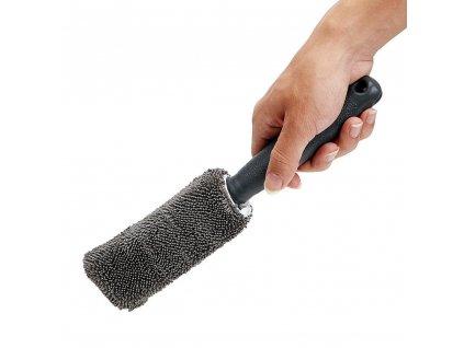 Mycí mikrovláknová štětka pro mytí kol