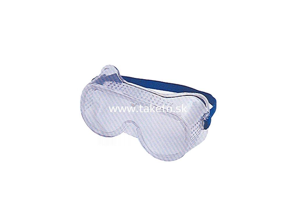 Okuliare Safetyco B008, číre, ochranné  + praktický pomocník k objednávke