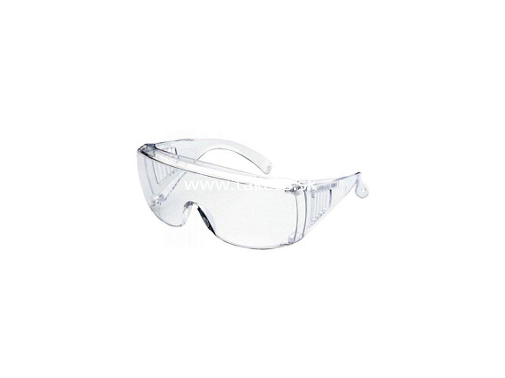 Okuliare Safetyco B501, číre, ochranné  + praktický pomocník k objednávke