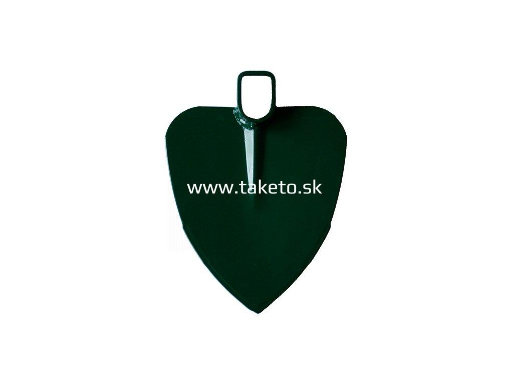 Motyka FED 204/1200, srdcová, malá, s násadou  + praktický pomocník k objednávke