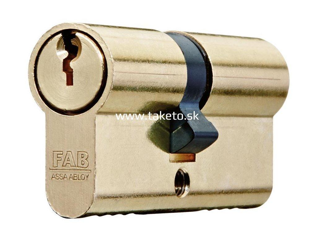 Vložka cylindrická FAB 100RSD/29+35 mm, 3 kľúče, stavebná  + praktický pomocník k objednávke