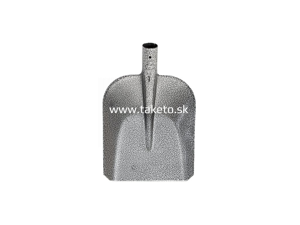 Lopata S504B 7130 rovná, klasická, 280x235 mm, KomaXit, bez násady  + praktický pomocník k objednávke