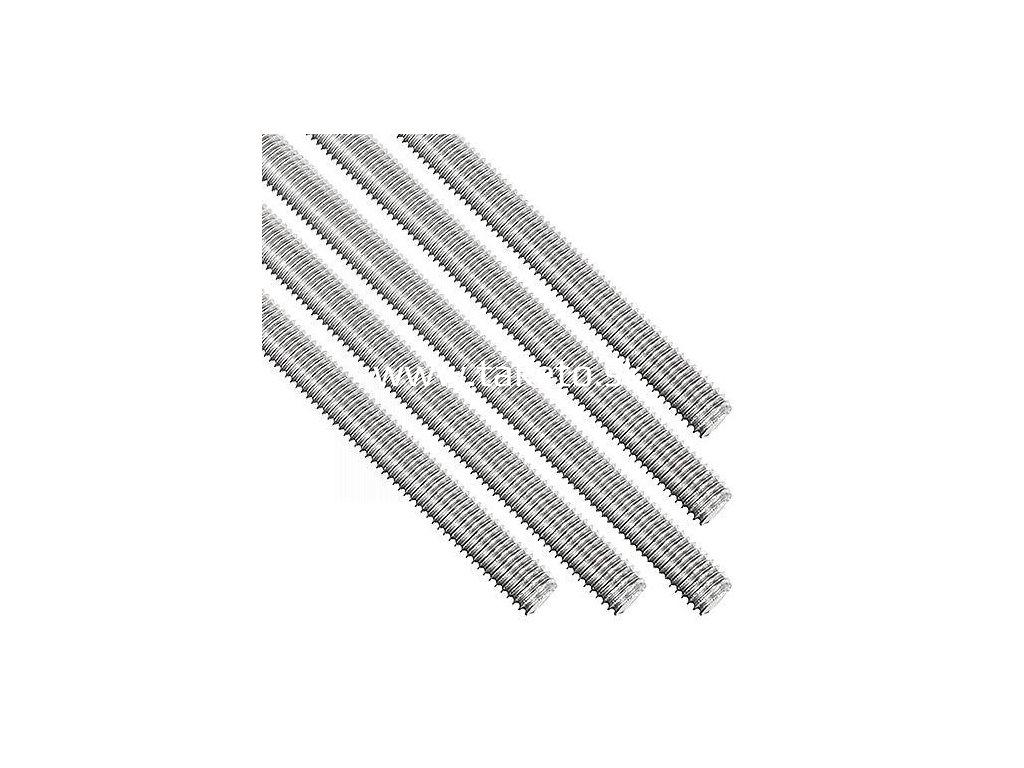 Tyč 975-5.8 Zn M12, 1 m, závitová, zinok  + praktický pomocník k objednávke
