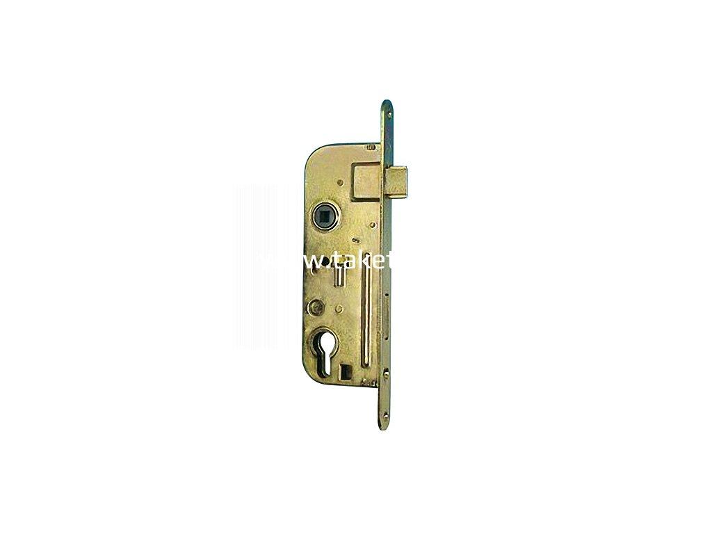 Zamok TESLA V6090 P Zn, 90/45/63, vložkový, zadlabací  + praktický Darček k objednávke