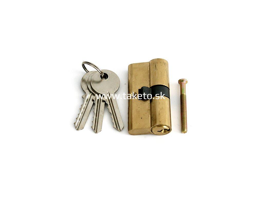 Vložka cylindrická T-LINK, 30/30 60 mm, 3 kľúče  + praktický pomocník k objednávke