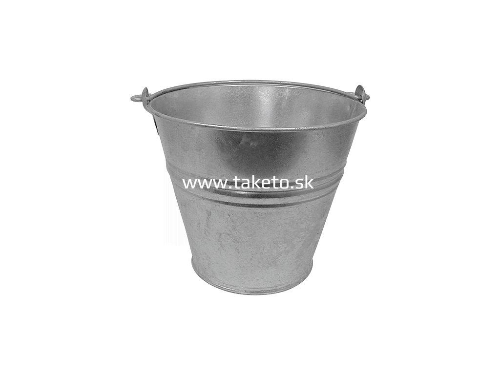 Vedro Kovotvar 28 08 lit Zn Standard  + praktický pomocník k objednávke