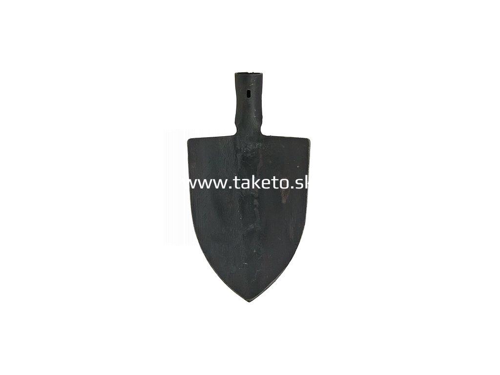 Rýľ Gardex 1450 g, špicatý, kovaný, bez násady  + praktický pomocník k objednávke