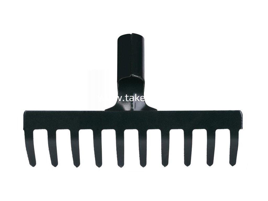 Hrable R105, 10 zubé, záhradné, bez násady  + praktický pomocník k objednávke