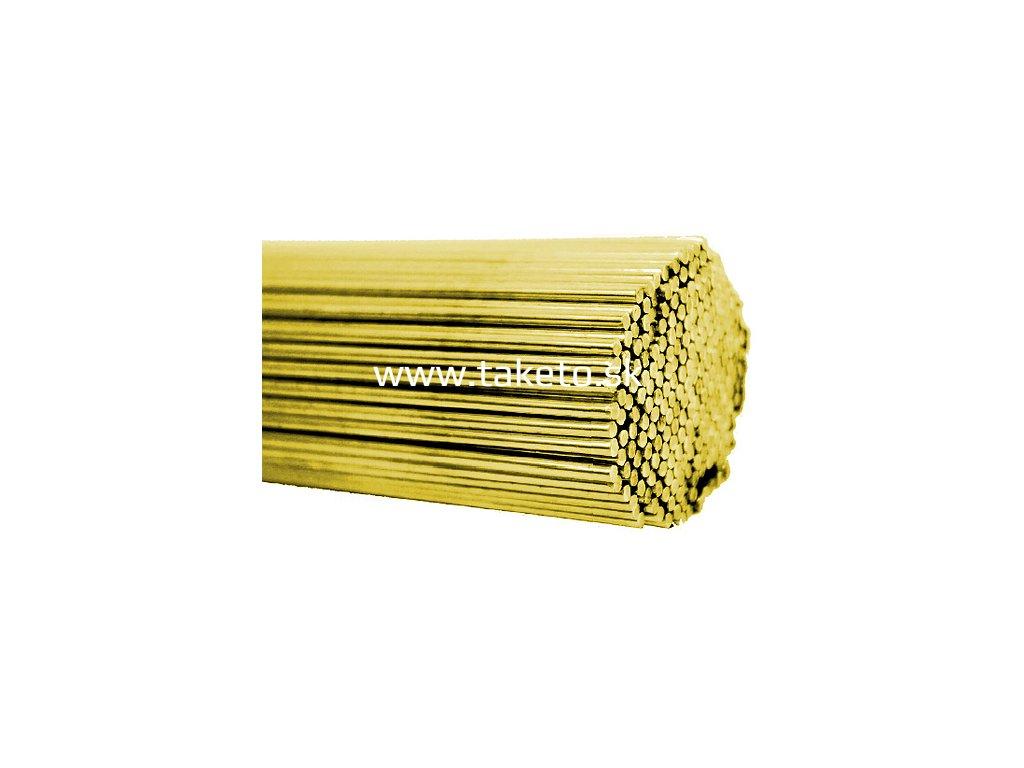 Drôt zvárací, mosadzný 2,00 mm  + praktický pomocník k objednávke