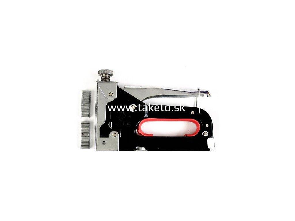 Sponkovačka Strend Pro S205, 04-14 mm, s regulátorom a sponkami  + praktický pomocník k objednávke