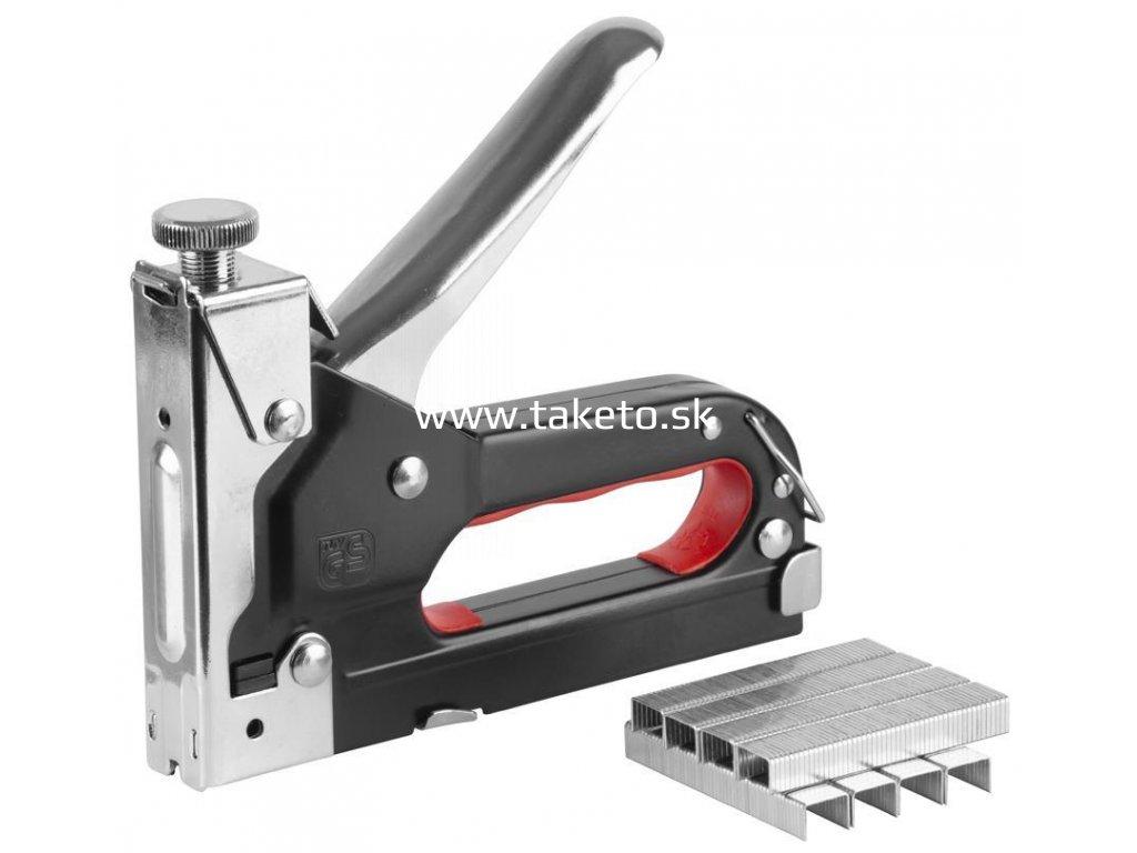 Sponkovačka Strend Pro S221, 04-14 mm, kazeta  + praktický pomocník k objednávke
