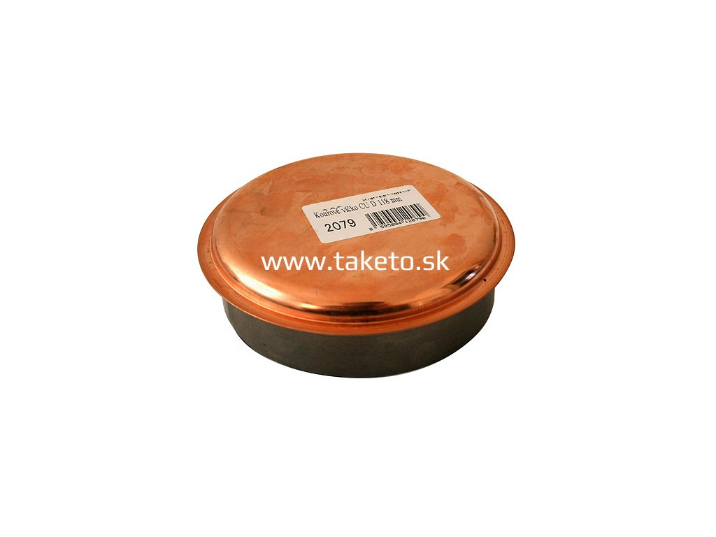 Zatka Antikoro 2346 120 mm, Cu, viečko  + praktický pomocník k objednávke