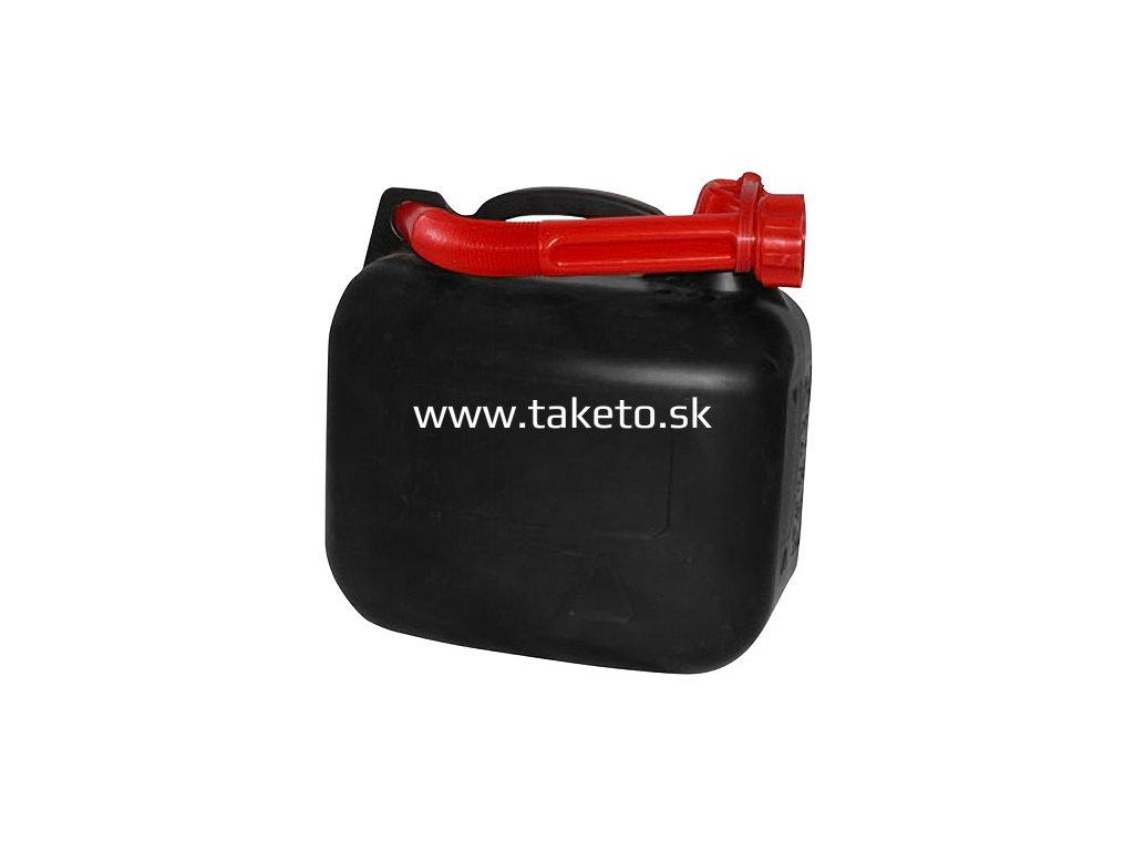 Kanister Strend Pro MAX 10 lit, na PHM, čierny  + praktický pomocník k objednávke