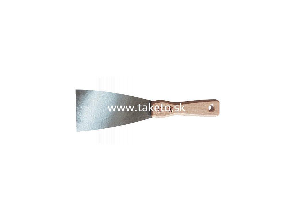 Stierka York® 850/100 mm, oceľ, drevená rúčka  + praktický Darček k objednávke