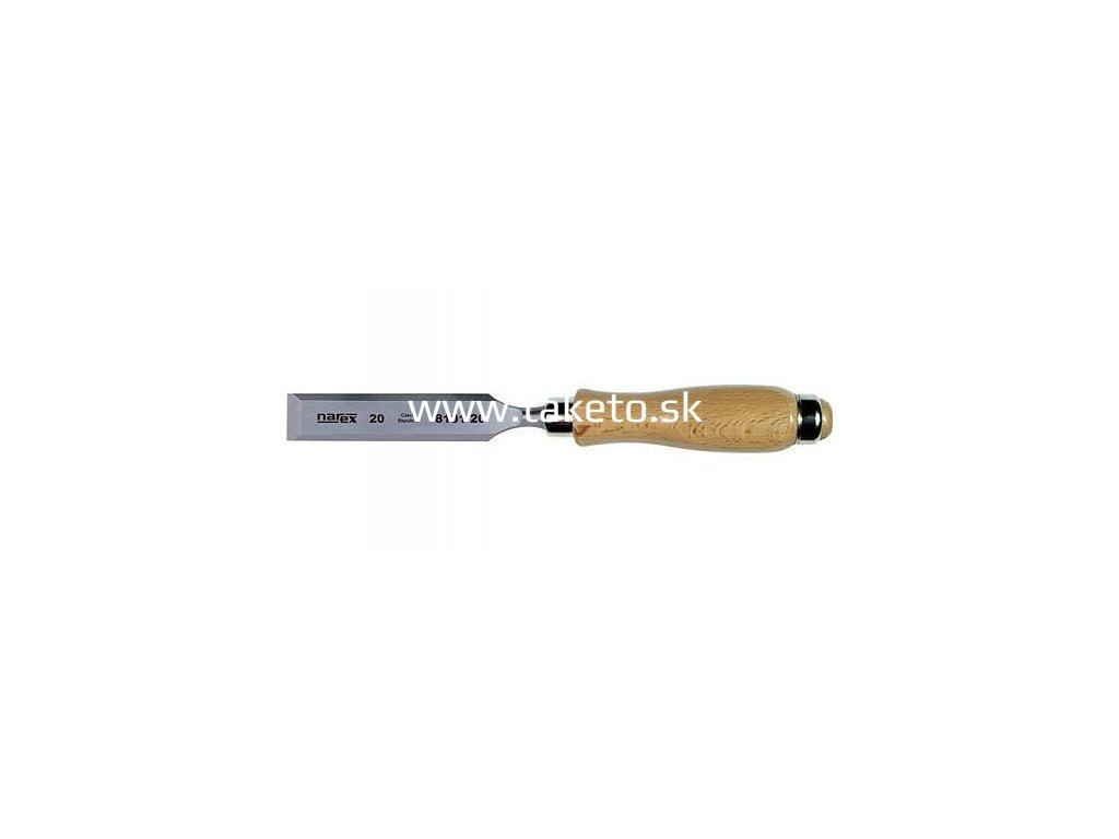 Dláto Narex 8101 08 • 08/122/260 mm, ploché, na drevo, Cr-Mn  + praktický pomocník k objednávke