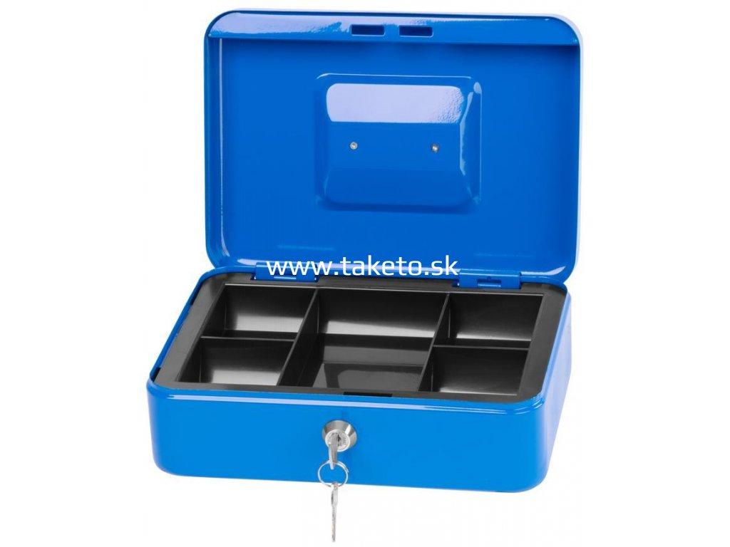 Skrinka CashBox 250x180x90 mm, na peniaze  + praktický pomocník k objednávke