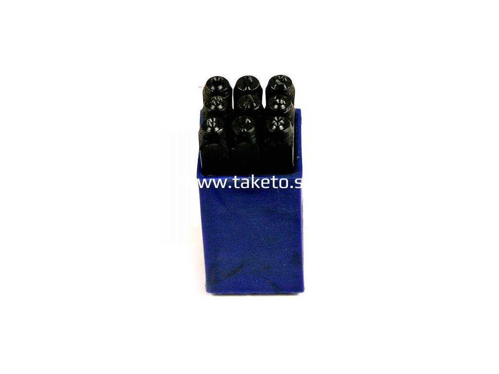 Razidla čísla HR59207 08 mm, 123 9 ks  + praktický pomocník k objednávke