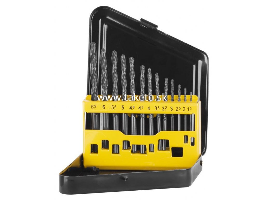 Sada vrtákov Strend Pro FD131, 13 dielna, 1-10 mm, HSS, do kovu  + praktický pomocník k objednávke